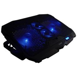 BASE PARA NOTEBOOK NOGA NG-Z025 13 A 17 4 COOLERS INCLINABLE 3 POCISIONES DISPLAY FUNCIONES