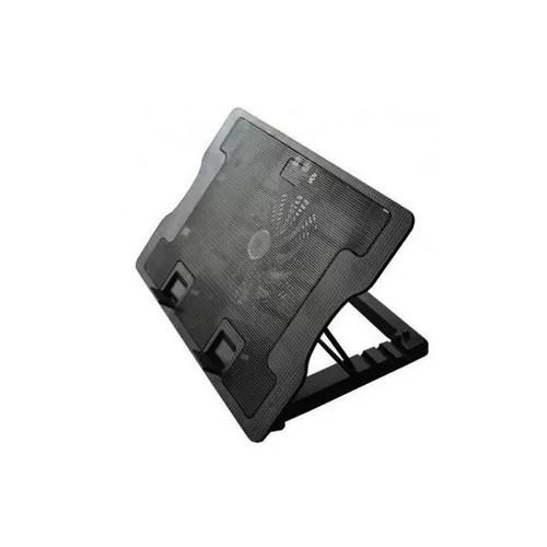 BASE PARA NOTEBOOK LETOS BT-370 15 1 COOLER LED AZUL 2 USB 6 ANGULOS AJUSTABLES
