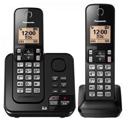 TELEFONO INALAMBRICO PANASONIC KX-TGC362AGB DOBLE BASE CONTESTADOR BLOQUEO DE LLAMADAS