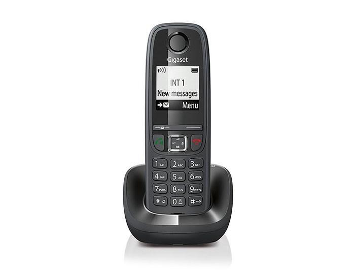 TELEFONO INALAMBRICO GIGASET AS405 IDENTIFICADOR DE LLAMADAS MANOS LIBRES