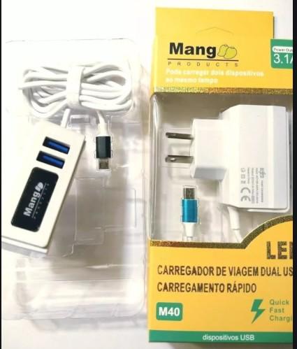 CARGADOR DE PARED MANGO 3.1A