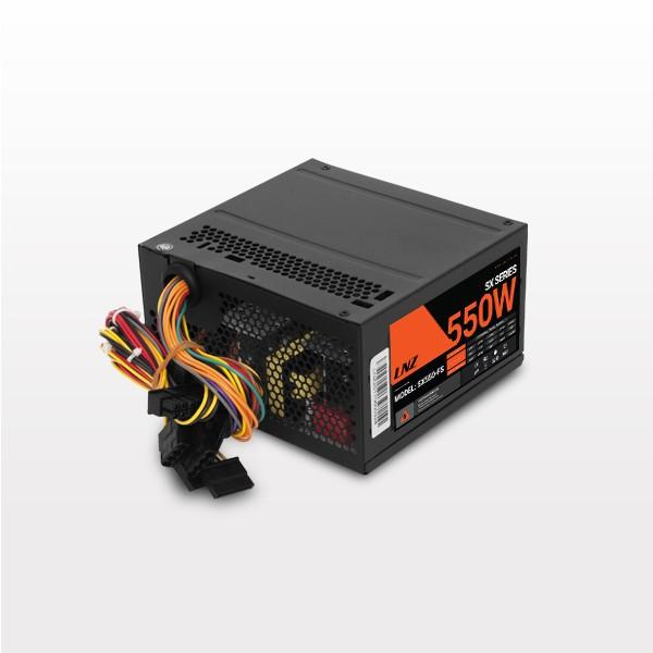 FUENTE LNZ 550W PX550-FS 20+4 PIN FAN 8CM