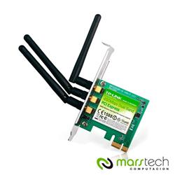 PLACA DE RED WIFI TP-LINK WDN4800 450MBPS 3 ANTENAS PCI-EXPRESS