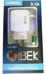 CARGADOR DE PARED IBEK 3.1A