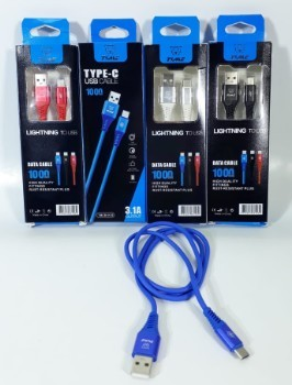 CABLE USB TIPO C 3.1A TYME