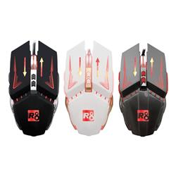 MOUSE GAMER USB R8 G1 7D 2400DPI