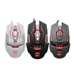 MOUSE GAMER USB R8 G2 5500DPI 7D