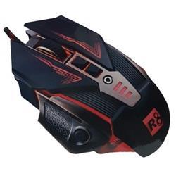 MOUSE GAMER USB R8 G3 7D 3200 DPI RESISTENTE AL AGUA