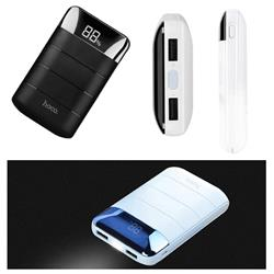 CARGADOR PORTATIL HOCO B29 10000Mah CON DISPLAY DIGITAL 5V 2A