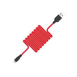 CABLE USB HOCO X21 CARGADOR SILICONA TIPO C TRANSMISION DE DATOS 2.0A