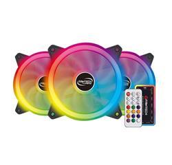 COOLER 12cm FANTECH RGB TURBINE FB-301 x3