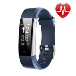 SMARTWATCH SMARTBAND 115 PLUS AZUL BLUETOOTH ANDROID IPHONE