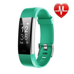 SMARTWATCH SMARTBAND 115 PLUS VERDE BLUETOOTH ANDROID IPHONE