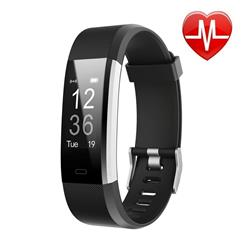 SMARTWATCH SMARTBAND 115 PLUS NEGRO BLUETOOTH ANDROID IPHONE