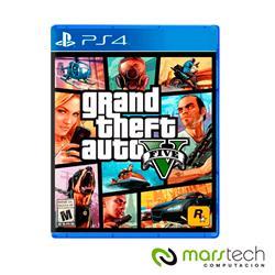 JUEGO PS4 GRAND THEFT AUTO V, GTA 5 (LATAM) FISICO SELLADO CAJA