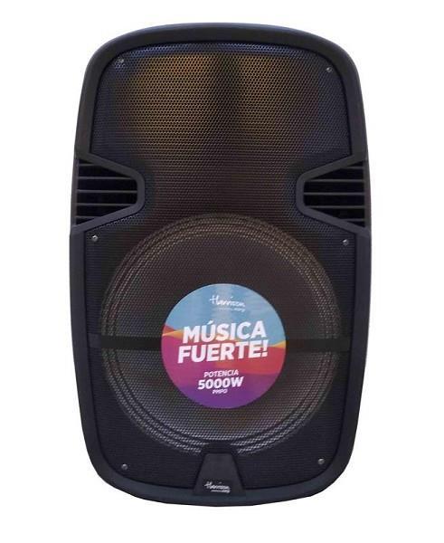 PARLANTE PORTATIL 15 HARRISON ACID MAX SP-KJA1110F 15 5000W BLUETOOTH USB MICRO SD RADIO FM