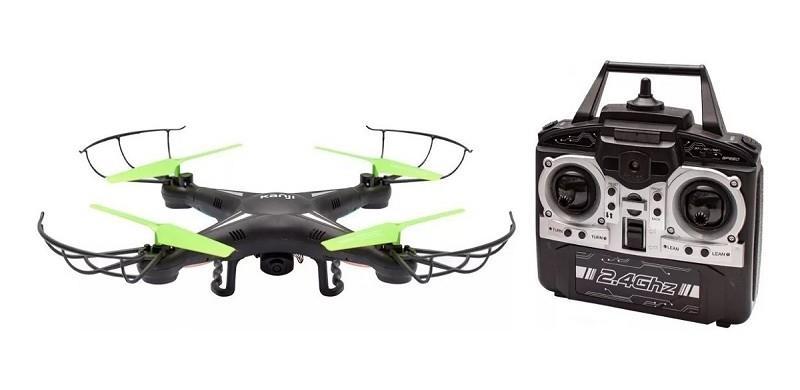 DRONE KANJI KAZE CAMARA HD ALTUA 60 METROS 45 MINUTOS TIEMPO DE CARGA