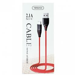 CABLE USB TIPO C GOMA TURBO 5A 1M TRANYCO