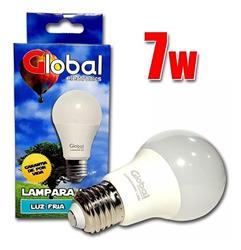 LAMPARA DE LED DE 7 WATTS REEMPLAZO 60W FRÍA 6500K 560 LUMENS DE TIPO A60