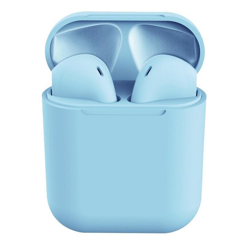 AURICULAR IN EAR BLUETOOTH 5.0 I12S CELESTE TWS