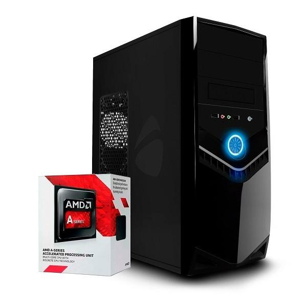 PC ARMADA AMD A6 7480 6 NUCLEOS 4GB SSD 120GB MB A68 GABINETE KIT