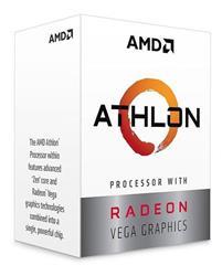 PROCESADOR AMD ATHLON 3000G 3.5GHZ AM4 VEGA 3 4MB