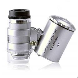Lupa Microscopio Portátil 60x De Mano Joyero