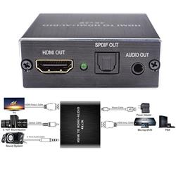 Extractor Audio Y Video Hdmi Toslink HD 1080