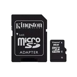 MICRO SD 8GB KINGSTON CL4 SDC4/8GB