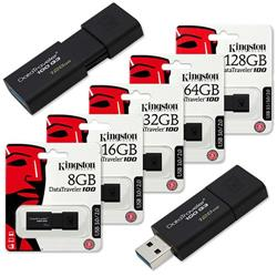 PENDRIVE 16GB KINGSTON DT100G3/16GB(***)