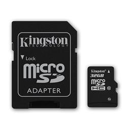 MICRO SD 32GB KINGSTON CL10