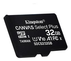 MICRO SD 32GB KINGSTON SDCS2/32GB CANVAS 100R - 1v0