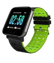 SMARTWATCH A6 NEGRO RESISTENTE AGUA ANDROID IOS