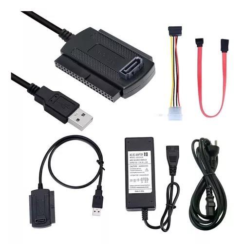CABLE NOGA ADAPTADOR IDE Y SATA A USB HE 2020