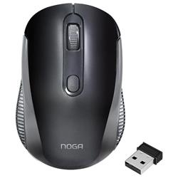 MOUSE INALAMBRICO NOGA NGM-690 800/1200/1600 DPI ALCANCE 10 METROS