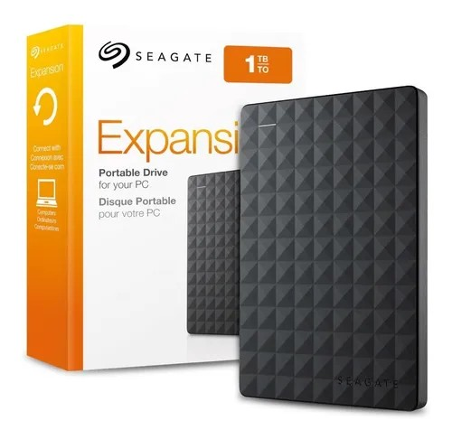 DISCO EXTERNO 1TB SEAGATE EXPANSION BLACK 3.0