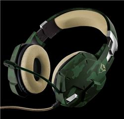 AURICULAR GAMER CON MICROFONO TRUST CARUS GXT 322C JUNGLE CAMO PC PS4 XBOX ONE NSWITCH