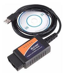 SCANNER AUTOMOTRIZ OBD2 MULTIMARCA CON CABLE USB