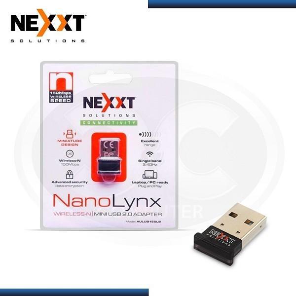 ADAPTADOR USB WIFI NEXXT LYNX NANO 150MBPS