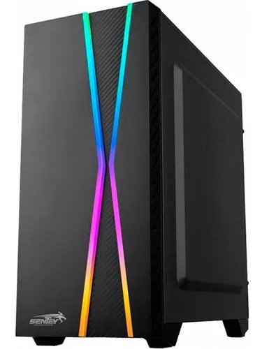 PC ARMADA GAMER RYZEN 5 3400G 8GB DDR4 SSD 240GB MB A320 ASUS GABINETE SENTEY X10 TEC + MOUSE