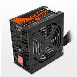 FUENTE LNZ 650W ZX650-LS FAN 120MM LED