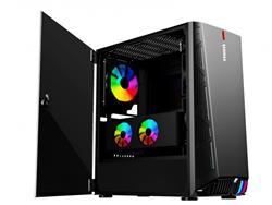 GABINETE GAMER RAIDMAX F05 ARGB TEMPERED GLASS SIDE PANEL COOLING SYSTEM