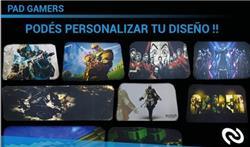 PAD MOUSE GAMER DISEÑOS VARIADOS