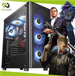 PC ARMADA GAMER INTEL I5 10400 8GB DDR4 SSD 480GB GTX 1050TI 4GB FUENTE EVGA 650W GAB RAIDMAX F05