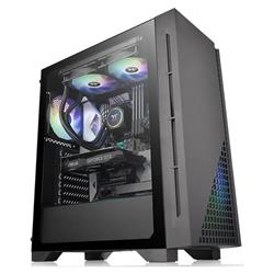 GABINETE GAMER THERMALTAKE H330 TG TEMPERED GLASS