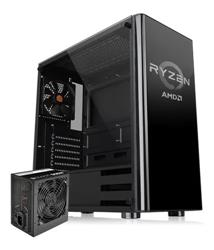 PC ARMADA GAMER RYZEN 5 2600 8GB DDR4 SSD 480GB M.2 GTX1050TI 4GB GAB THERMALTAKE TT RYZEN