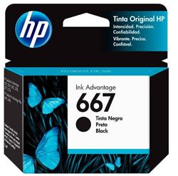 CARTUCHO ORIGINAL HP 667 NEGRO