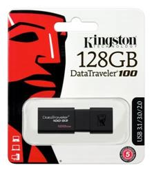 PENDRIVE 128GB KINGSTON DT100 G3 (N)