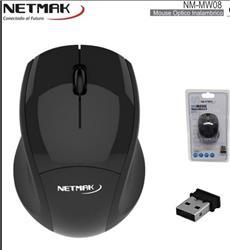 MOUSE INALAMBRICO NETMAK NM-MW08 2.4GHZ