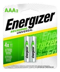PILA RECARGABLE AAA ENERGIZER NH12 700MHA BLISTER X2